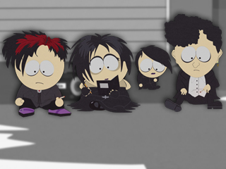 Why are you guys so sad, Goth Kids????